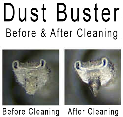 Vinyl Passion Dust Buster Before & after pictures