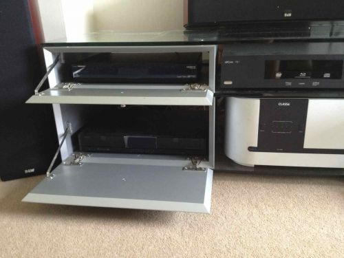 buy this used spectral cl 1552 black and glass home cinema system rack on hifi forsale. Black Bedroom Furniture Sets. Home Design Ideas