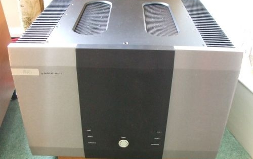 Buy this used Musical Fidelity AMS 50 power amplifier on ...