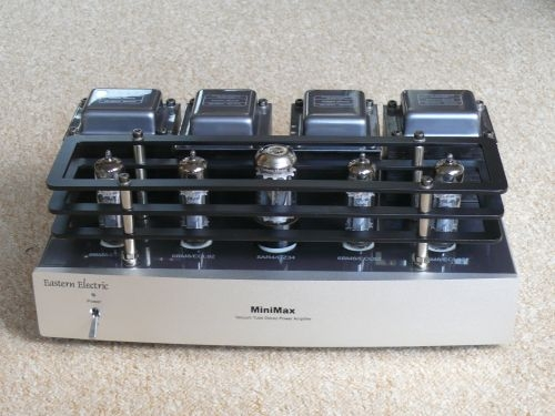Electric Power Amplifier : Eastern electric minimax power amplifier amps